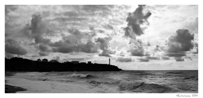 lighthouse black and white 2 by biotechbob
