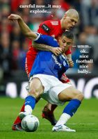 Skrtel - Exploding ball - careful clearance by wolfboytakao1594