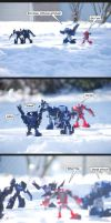 Snowball Fight by The-Starhorse