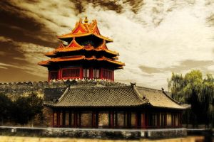 The turret of the Imperial Palace 2 by sunny2011bj