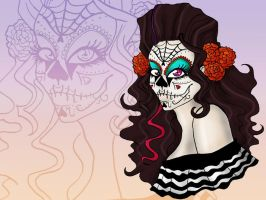 Day of the Dead Phantazma by PrincessAbiliss