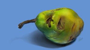 Pear - Digital Paint by sapphiresky1410