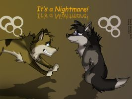 It's A Nightmare by SilverNoia