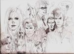 Doctor Who Sketches by Patatat