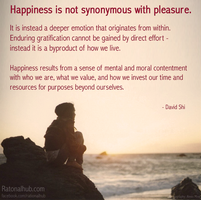 Happiness and Pleasure.. by rationalhub