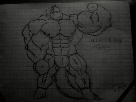 Terry work out -wip- by Skylink250