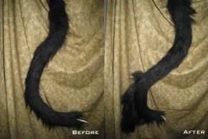 Demon Beast Tail Mod by temperance