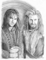 Kili and Fili by crystalkitty