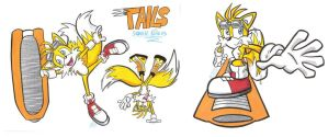 Sonic Riders - Tails!! by Spectrumelf