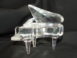 Crystal Grand Piano 1 by FantasyStock