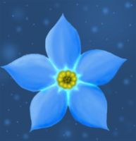Forget-Me-Not by Angelawolf13
