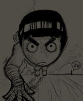 Shorts: Rock Lee by Ek-cg