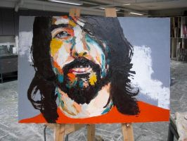 Dave Grohl by Taapi
