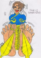 Chun_Li Tied and Tickled by falcontk