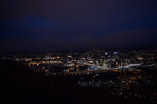 Oslo at night by Kdv42