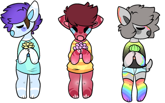 doggo flatsale!||3 OPEN|| by Pink-Cherry-Bomb