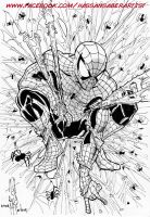 Spider-man hommage by scarecrowhassan