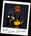 Tribute to Robin Williams by NocturnalKitten-Art