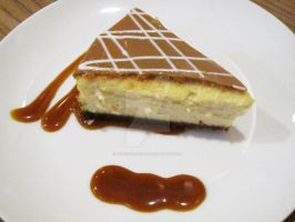Salted Caramel Cheesecake by GiftedChild777