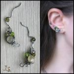Linden alley ear pins by JSjewelry