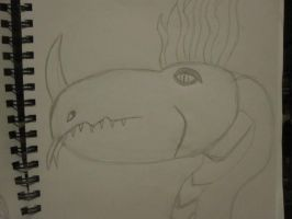Dragon 2 Sketchbook Drawings 3 by Doom-Wulf