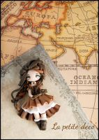 steampunk girl by lapetitedeco