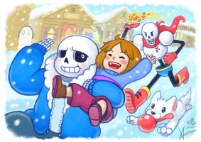 UNDERTALE Collaboration by Cold-Creature