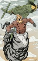 Rocketeer colored by JordanMichaelJohnson