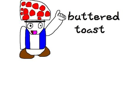 buttered Toadst (non banner version) by Pokemontrainernat
