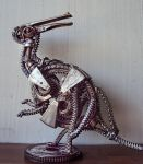 Steampunk Parasaurolophus by metalmorphoses