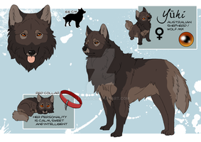 YUHI_Character sheet by LewKat