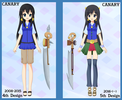 Canary 5th Remodel - 2016 Design by RJAce1014