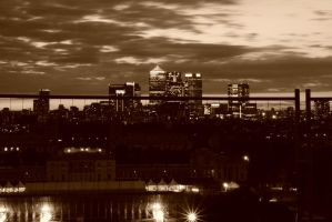 Canary Wharf by FillyDan