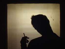 Cigarette Silhouette by MistaMisanthropy