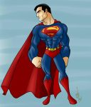 Superman stand by Kryptoniano