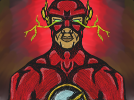 DC Comic - The Flash by dragonfire53511