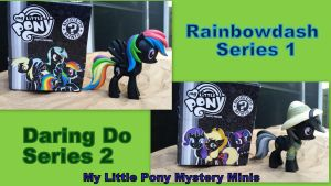 MLP Mystery Minis Rainbowdash and Daring Do by Vesperwolfy87