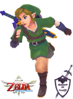 Skyward Sword - Link Render [7] by shad0w8