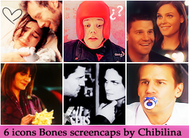 6 icons Bones by Chibilina