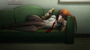 Drunk Kurisu by RaidouZERO