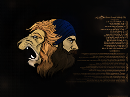 Singh Lion by Astral-Nihang