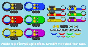 Mario Party Custom Party HUD by FieryExplosion