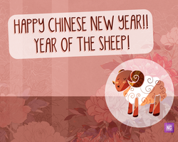 Happy Chinese New Year 2015 by solcastle