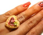 Heart Shaped Cookie ring by colourful-blossom
