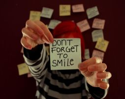 Don't Forget To Smile by flick-of-the-wrist