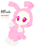 Chibi Bunny Costume Base by BBPixels