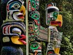 Totems - Vancouver by MichelLalonde