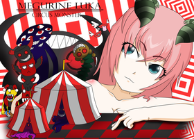 Megurine Luka Circus Monster by gwandeolyn