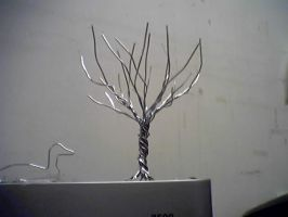 another paperclip tree by thedens