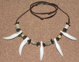 'Wolf Fang' Necklace by jen-kollic